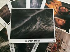 The Perfect Storm Set of 8 Lobby Cards 2000, George Clooney, Mark Wahlberg