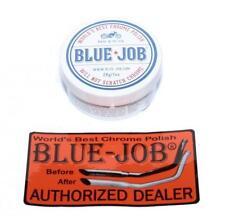 Blue Job Motorcycle Exhaust Chrome Polish Removes Blues 28g 1oz Tub