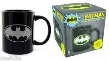 Tazza in ceramica Batman Glow in the Dark Black Logo Mug ufficiale Dc Comics