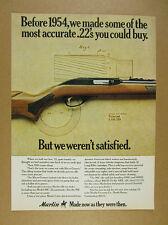 1976 Marlin 99C Autoloader 22 .22 Rifle vintage print Ad