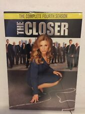 The Closer: The Complete Fourth Season (DVD, 2009, 4-Disc Set)