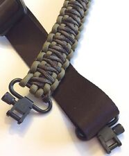 GUN SLING ADJUSTABLE 40-48 CLIPS SWIVELS SINGLE/DOUBLE ATTACH BR CAMO & COYOTE