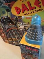 Doctor Who TV DALEK Rolykins Micro x 4