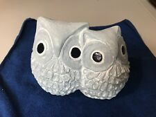 ISABEL BLOOM Isabels Owls Concrete Garden Sculpture Original Signed Art Retired