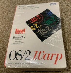 IBM OS/2 Warp Version 3 Operating System Plus Bonus Pak - BRAND NEW SEALED! RARE