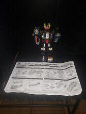 "Power Rangers Lightspeed Rescue Super Train Megazord Figure Toy 16"" Bandai 1999"