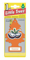 Little Trees Hanging Car and Home Air Freshener, Coconut Scent