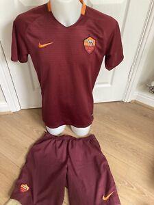 Roma Football Shirt Shorts 2016 Nike Large