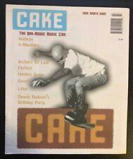 CAKE MAGAZINE - ANTHRAX-HOODOO GURUS-X-MEMBERS-LIFTER-DENNIS RODMAN  #44 1996
