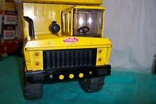 """Tonka Mighty Dump Truck 1970 # 3900 Press Steel Fully Working Truck 18 1/2"""" Long"""