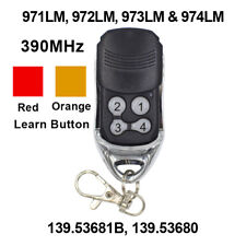 For 973LM Liftmaster Security + Remote Control 390mhz Sears Craftsman 139.53681B