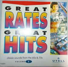 CD Compilation Great Rates Great Hits classic sounds from 60s & 70s Utell Int v1