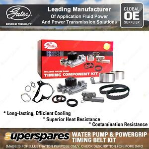 Gates Water Pump & Timing Belt Kit for Alfa Romeo 156 2.0 16V 99-06