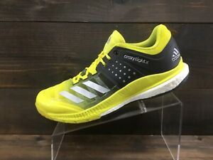 Adidas Crazyflight X Womens Bright Yellow Volleyball Shoes Ladies 11 Excellent