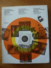 Catalogue de reproductions peintures 1860-1973 édit UNESCO , 343 p envoi gratuit