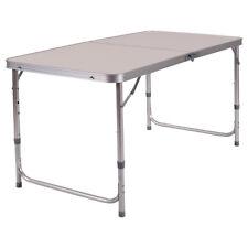 höhenverstellbarer Campingtisch Klapptisch Falttisch Gartentisch Beistelltisch