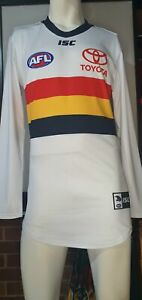 2019 Adelaide Crows AFL CLASH Player Issue Guernsey Long Sleeve