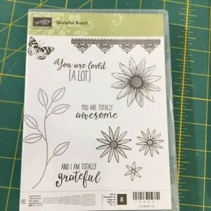 "Stampin Up ""Grateful Bunch"" &  ""Petite Pairs"" 140691 122497"