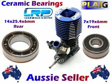CERAMIC Bearings to suit LRP ZR.30x Nitro Engine 14x25.4x6mm Rear 7x19x6mm Front