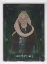 2016 Star Wars Masterwork METAL parallel Alien ID Guide AIM-6 Bib Fortuna 01/10