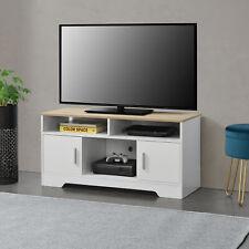 B-WARE Fernsehtisch TV Lowboard Board Fernseher Schrank Unterschrank Weiß