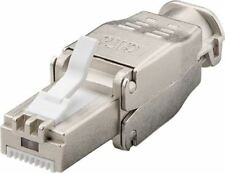 Tool-free RJ45 network connector STP shielded, CAT 6 - max. cable OD: 9 mm