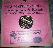 78 rpm  Loves old sweet song    Layton & Johnstone