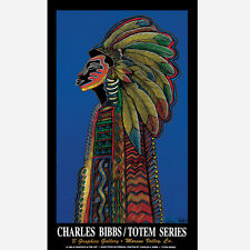 Totem Series Art Print/Poster Open Edition Ethnic Art by Charles Bibbs
