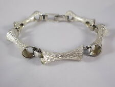 Außergewöhnliches Modernist Armband 925 Silber 70er Blogger Boho