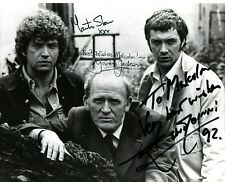 More details for collins,shaw & jackson rare signed photo 10x8 british tv the professionals