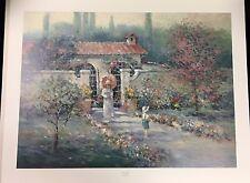 Garden Wall by L. Gordon - Limited Edition