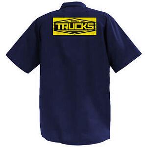 Tonka Trucks - Mechanics Graphic Work Shirt Short Sleeve