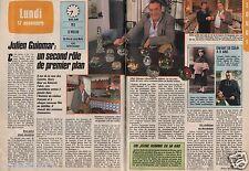 Coupure de presse Clipping 1986 Julien Guiomar  (2 pages)
