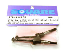 Square R/C Wide-Angle Universal Drive Shaft 33mm Standard Axle for Tamiya TT-01R