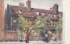London Postcard. Quaint House in Franklin Street,Chelsea. Tucks!  c 1907
