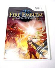 Fire Emblem: Radiant Dawn (Nintendo Wii, 2007) *BRAND NEW SEALED* Fast Shipping