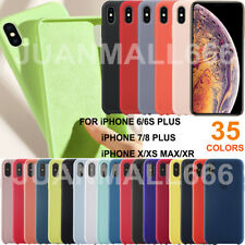 Original Silicone Case For iPhone XS Max XR 7 8Plus 11 Pro Max 2020 SE OEM Cover