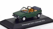 1:43 Altaya VW Collection VW Rabbit (Golf) 1 Convertible  1979