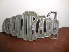 Colorado Belt Buckle