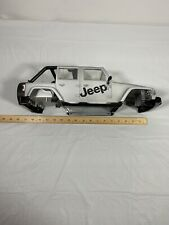 Jeep Wrangler body silver used Large Scale