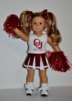 AMERICAN MADE DOLL CLOTHES FOR 18 INCH GIRL DOLLS DRESS,LOT OU CHEER