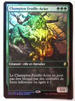 Steel Leaf Champion / Champion Feuille-Acier PROMO FOIL    MTG Magic Francais