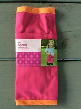 Pink Waist Apron for Kids Gardening Art