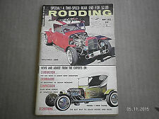 RODDING & RE-STYLING MAGAZINE  MAY 1962..2 SPEED REAR END FOR $2.00
