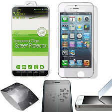 REAL TEMPERED GLASS FILM LCD SCREEN PROTECTOR FOR APPLE IPHONE 5 / 5S / 5C