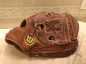 """Wilson A9800 13.25"""" Baseball Softball First Base Mitt Right Hand Throw"""