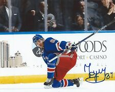 Pavel Buchnevich Signed 8x10 Photo New York Rangers Autographed COA
