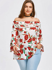 Blusas Floreadas Tops De Mujer De Moda Tallas Grandes Elegantes Plus Size 2019