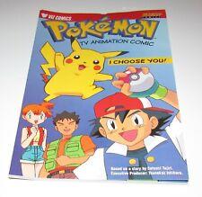 Pokemon TV Animation Comic I Choose You! Nintendo Power Comics 1999
