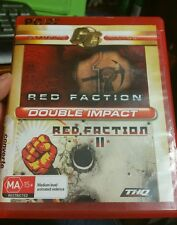 Double Impact Red Faction 1 and II - PC GAME - FAST POST *